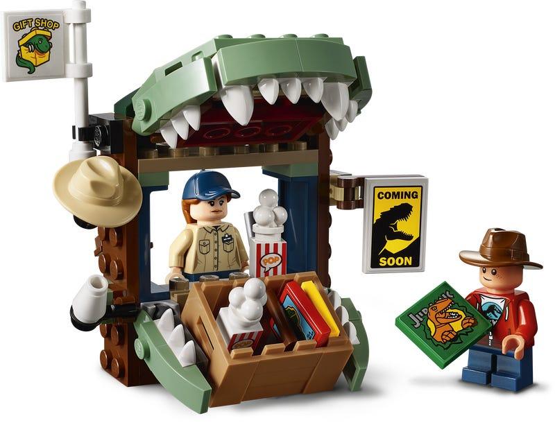 LEGO ®  Jurassic World™ Hudson Harper Figure Dilophosaurus 75934 set